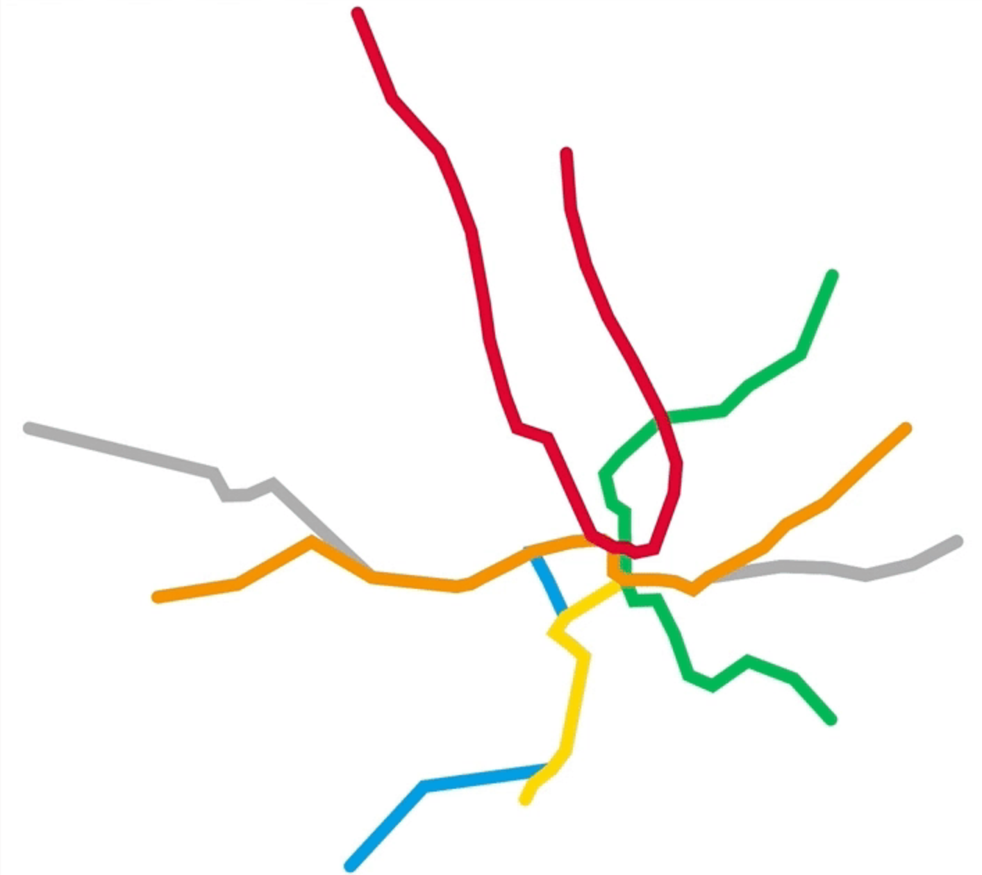 Mapping The Metro In Washington D C